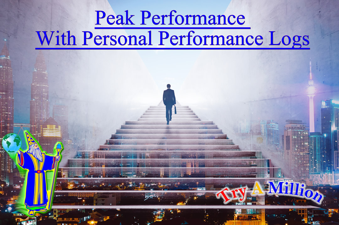 Peak Performance With Personal Performance Logs